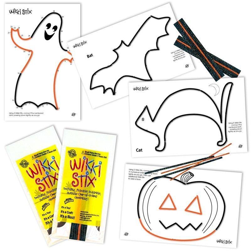 Halloween Fun Favors Display