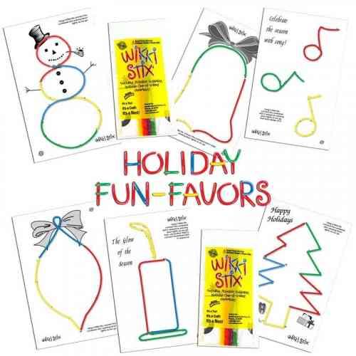 Holiday Fun Favors Display