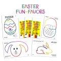 Easter Fun Favors Display
