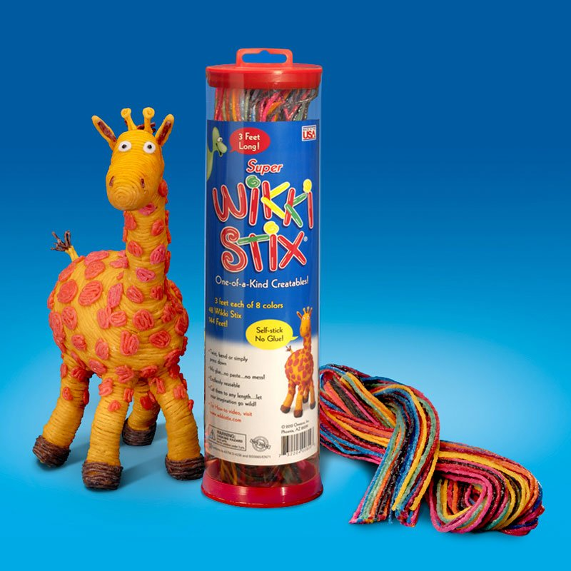 Super Wikki Stix Giraffe Display