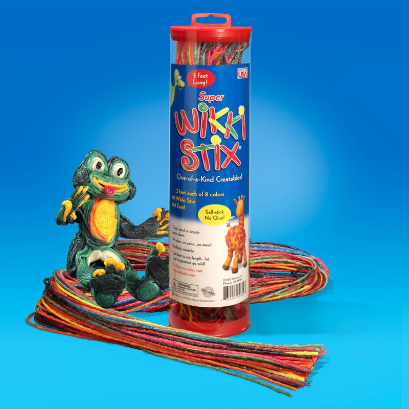 Super Wikki Stix Frog Display