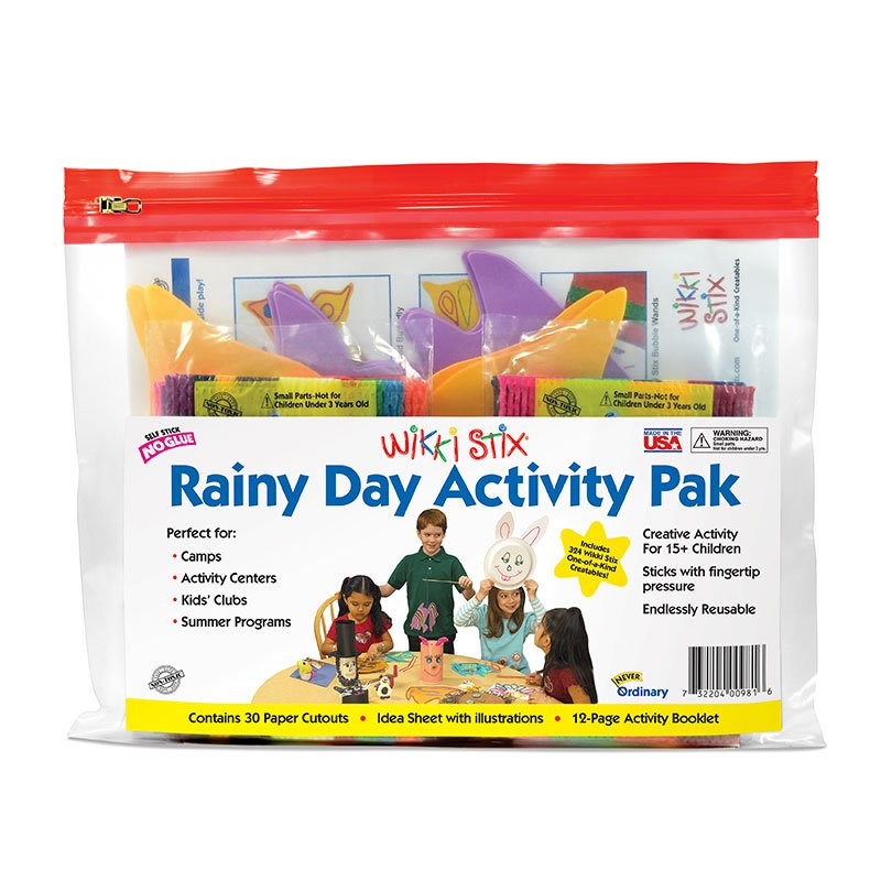 Rainy Day Activity Packaging