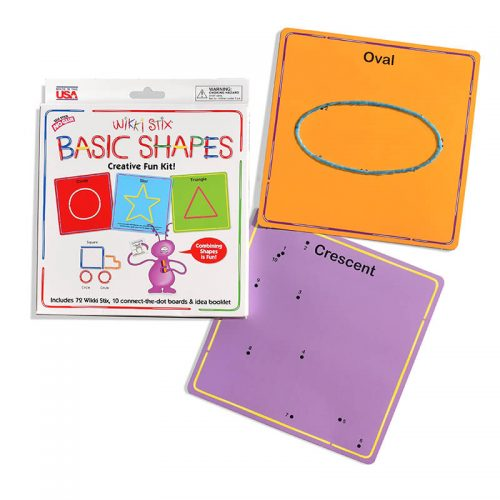 Basic Shape Oval Cresent Cards