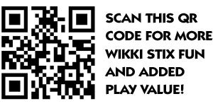 Scan here for more Wikki Stix fun!
