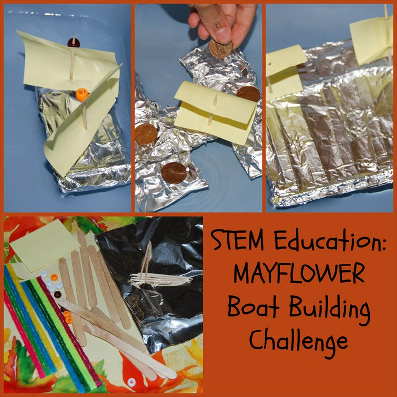 STEM Education for Kids: STEM Education for Kids: Mayflower Boat Building Challenge