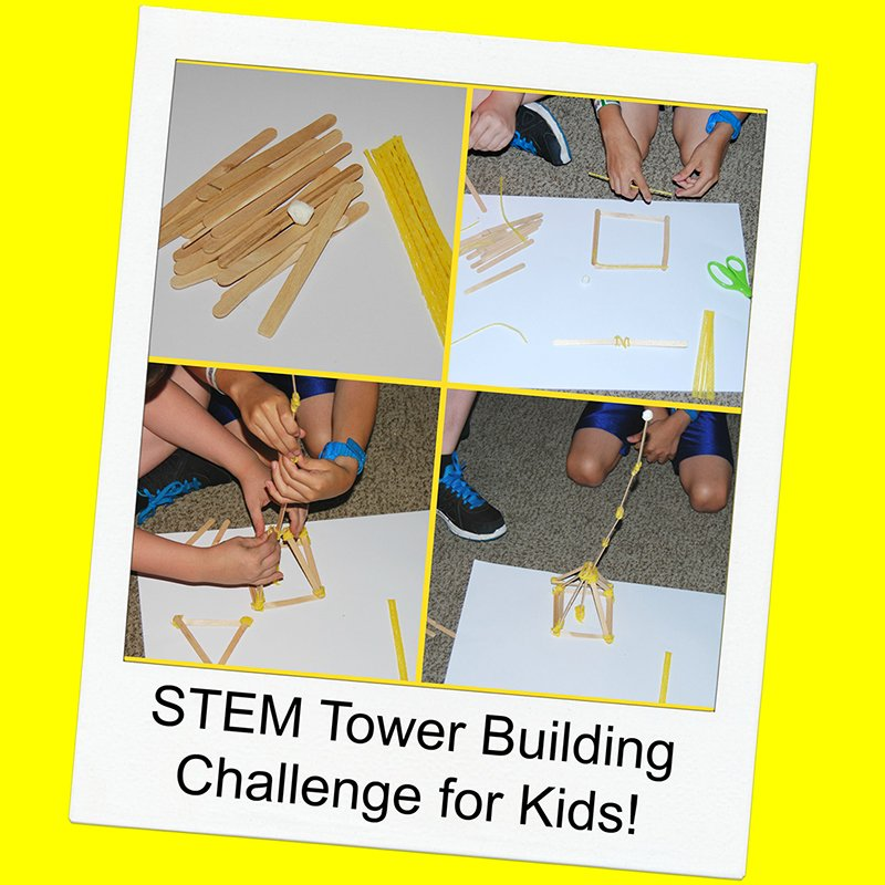 STEM for Kids: Tower Building Challenge