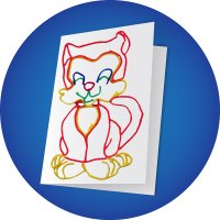 Kitty Cat Greeting Card Craft