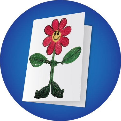 Flower Greeting Card Craft
