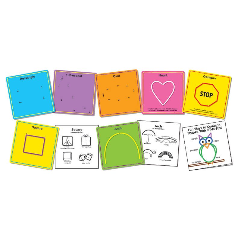 Basic Shape Cards