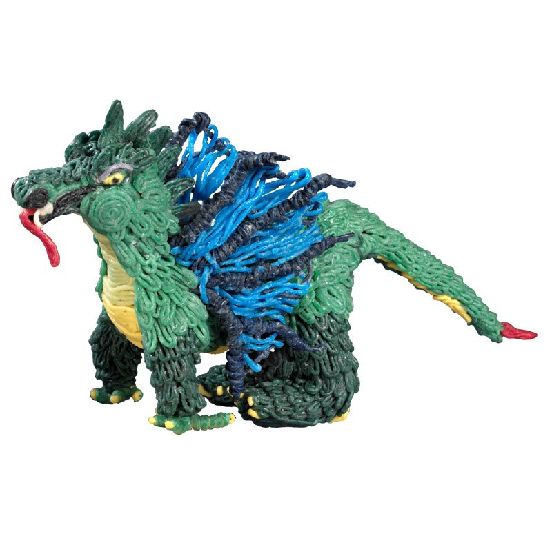 Cool Dragon made with Super Wikki Stix