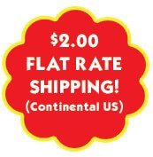 $2.00 Flat Rate Shipping