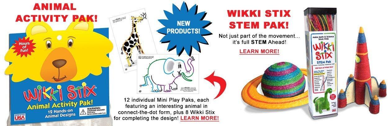 New Animal Pak and STEM Pak