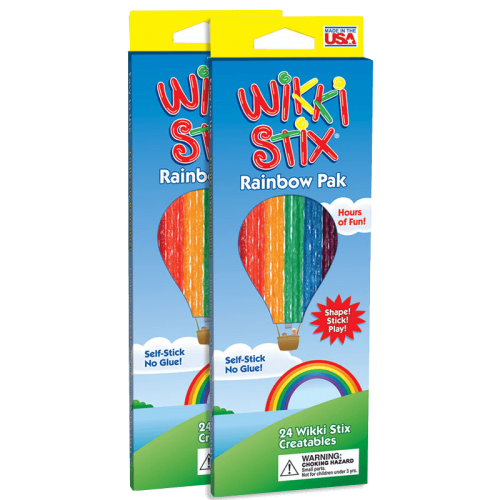 Rainbow Pak 2 for $5.00