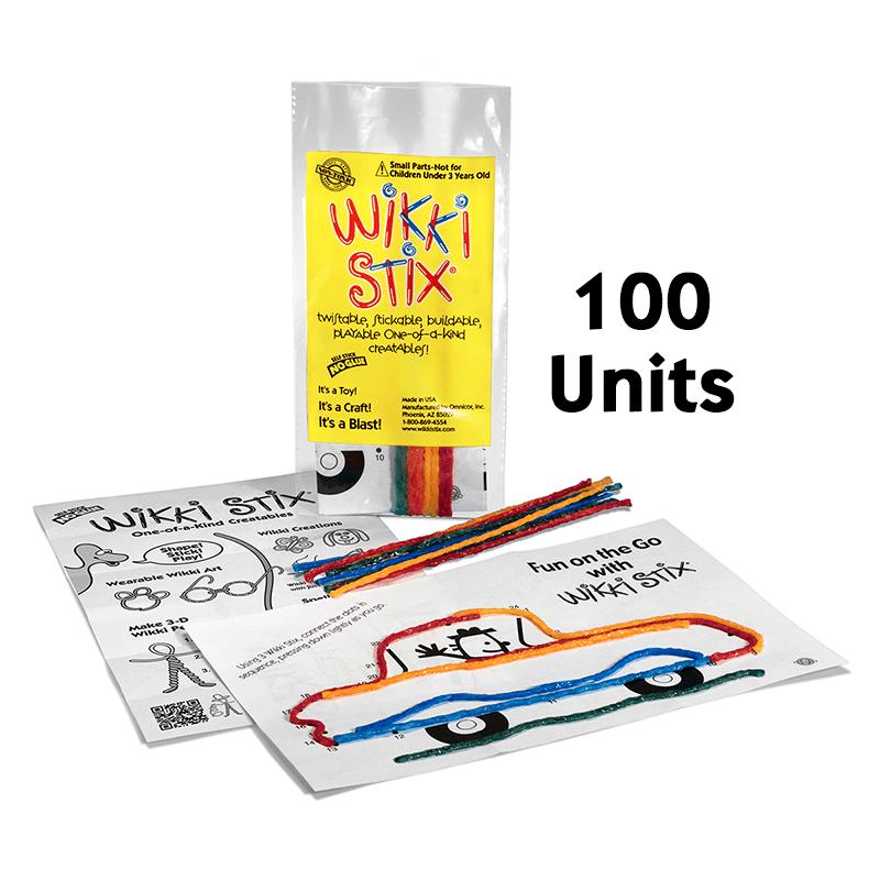 Mini Play Paks 100 Units