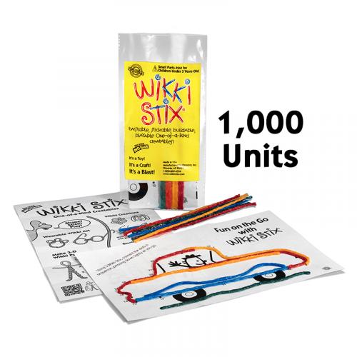 Mini Play Paks 1,000 units