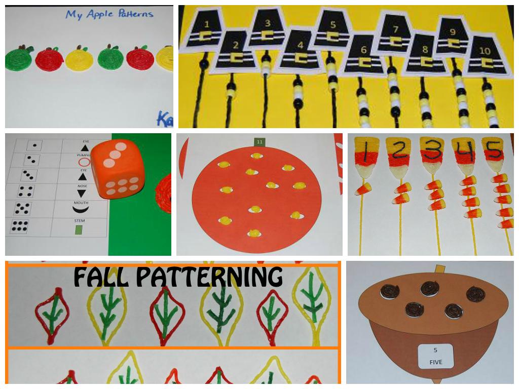 The BEST of Wikki Stix Fall Math for Kids!