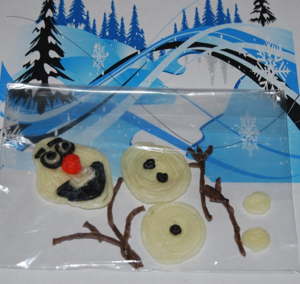Frozen-Inspired Treat Bag