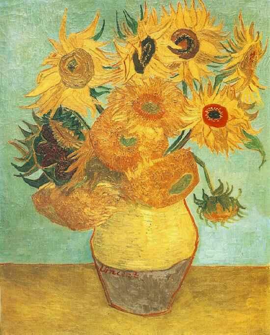 Wikki Stix Mixed Media Art for Kids:  Van Gogh's Sunflowers