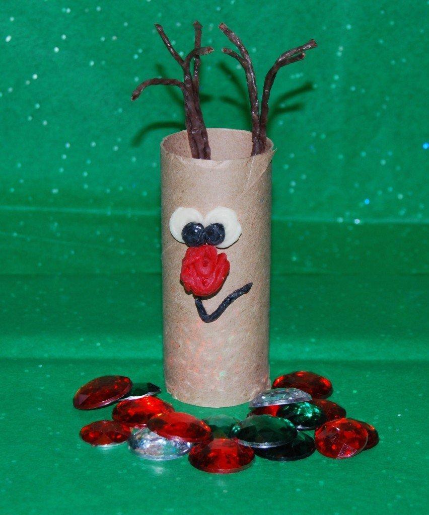 Cardboard Tube Reindeer