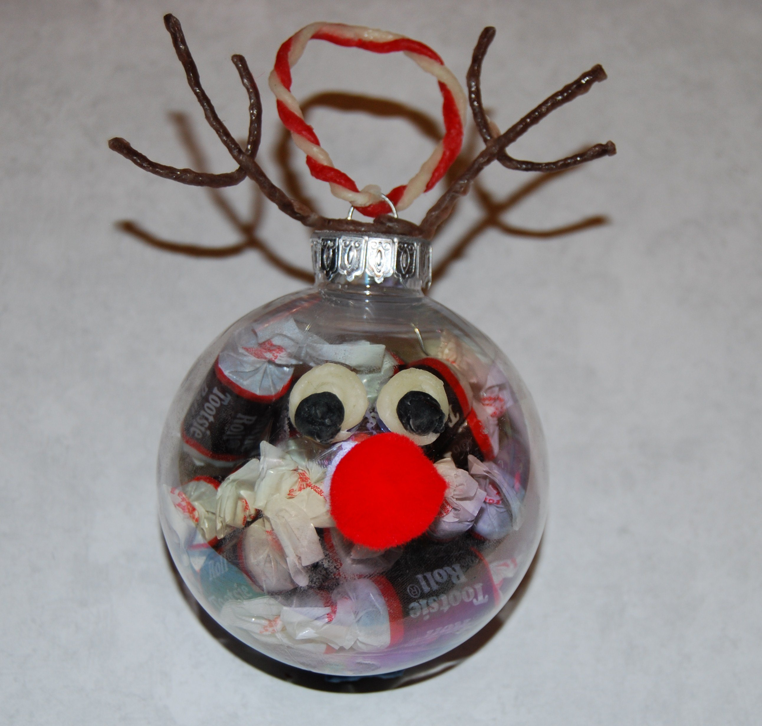 Clear Christmas Ball Crafts