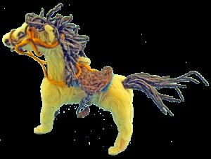 Wikki_Stix_white_horse