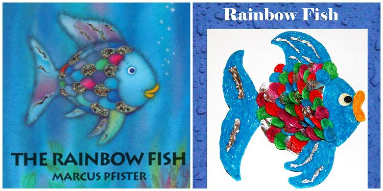 The Rainbow Fish Wikki Stix Craft for Kids