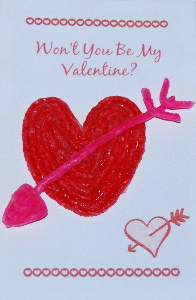 Wikki Stix Valentine Heart!