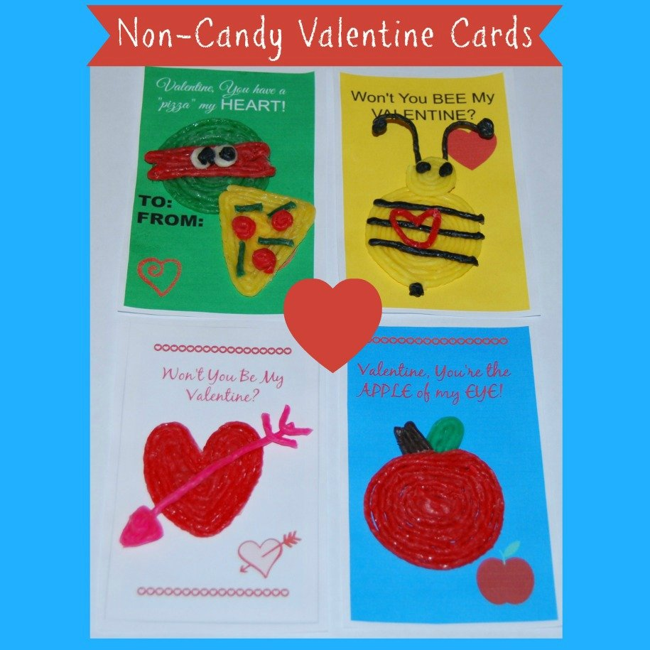 Wikki Stix NonCandy Valentines Day Cards for Kids – Valentines Cards with Candy