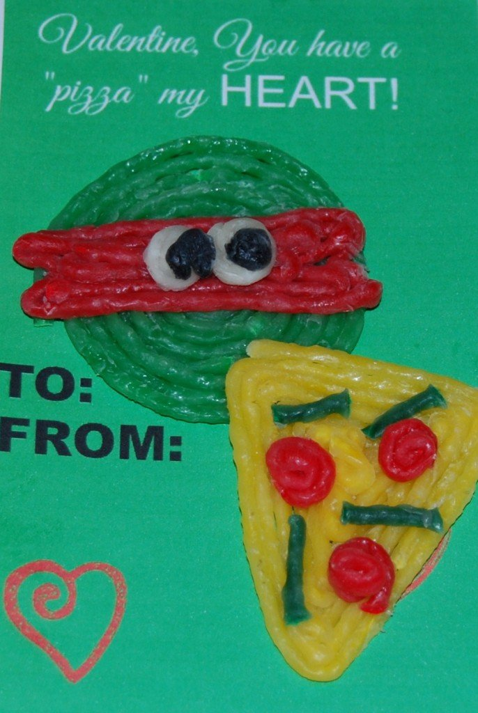TMNT Valentine Craft for Kids!
