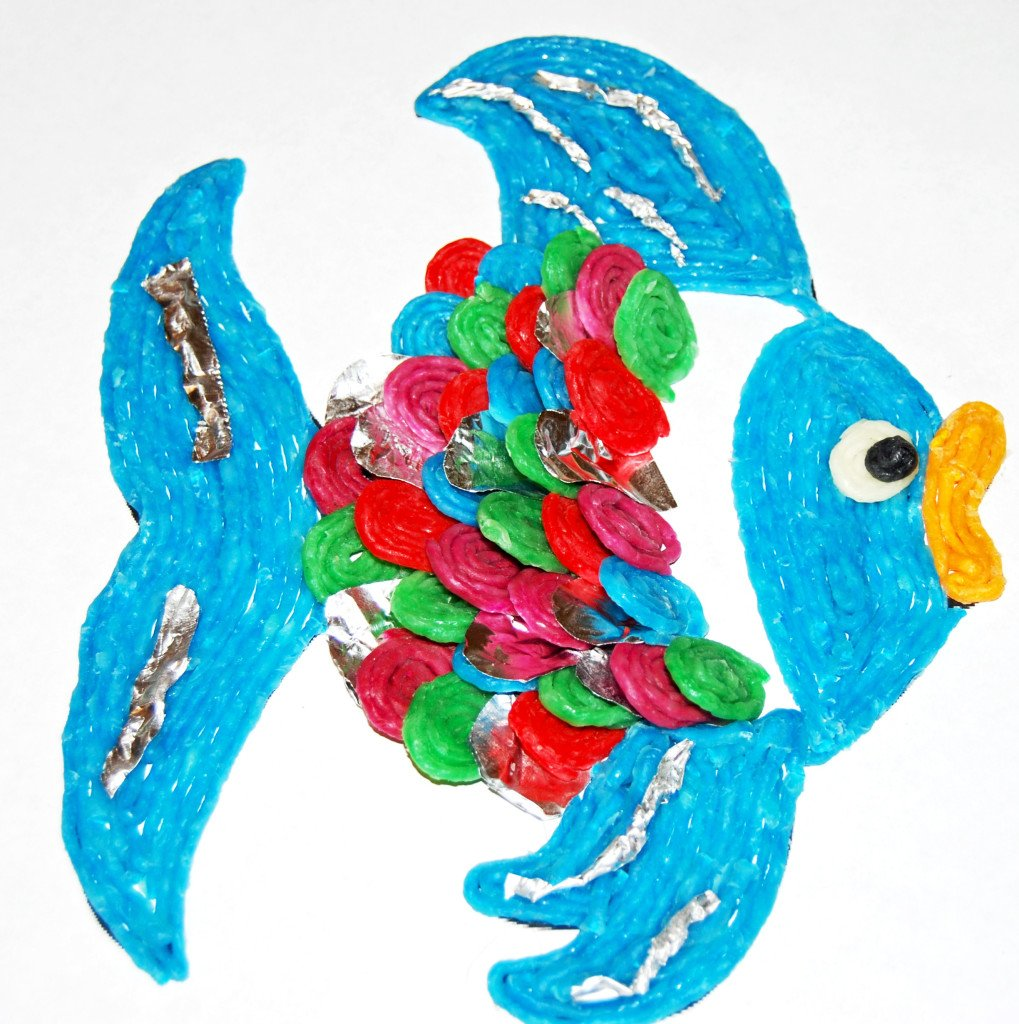 Yellow Rainbow Fish Rainbow Fish Construction