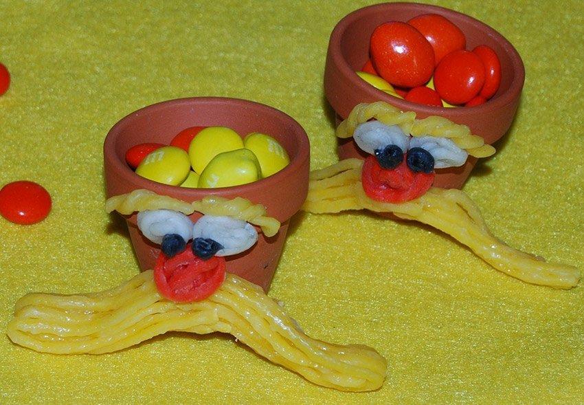 Lorax Treat Cups Craft Idea for Kids