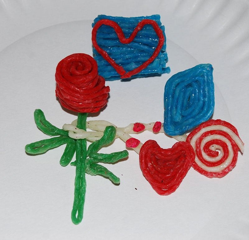 Wikki Stix Created Items