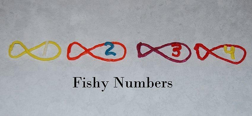 Fishy Numbers activities for Preschoolers