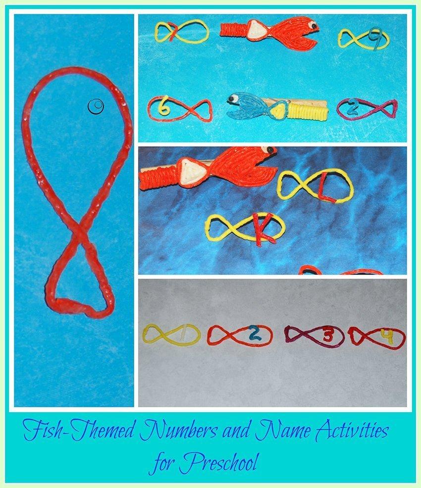 Fish themed activities for preschoolers wikki stix for Fish activities for preschoolers