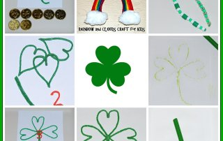 Wikki Stix St. Patrick's Day Crafts and Activities for Young Kids!