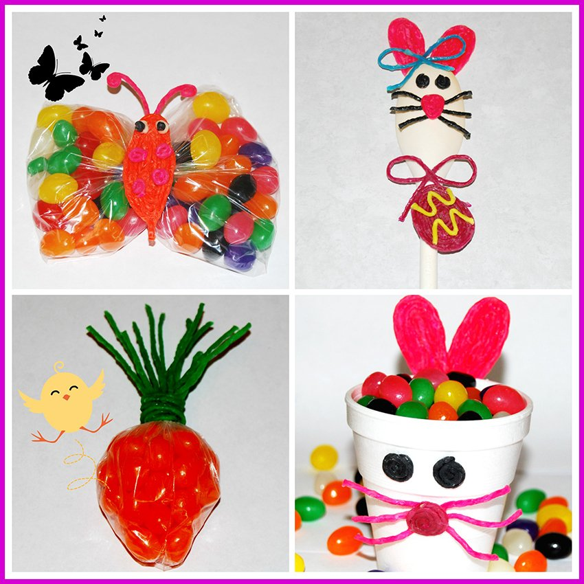 Wikki Stix Easter Crafts for Kids