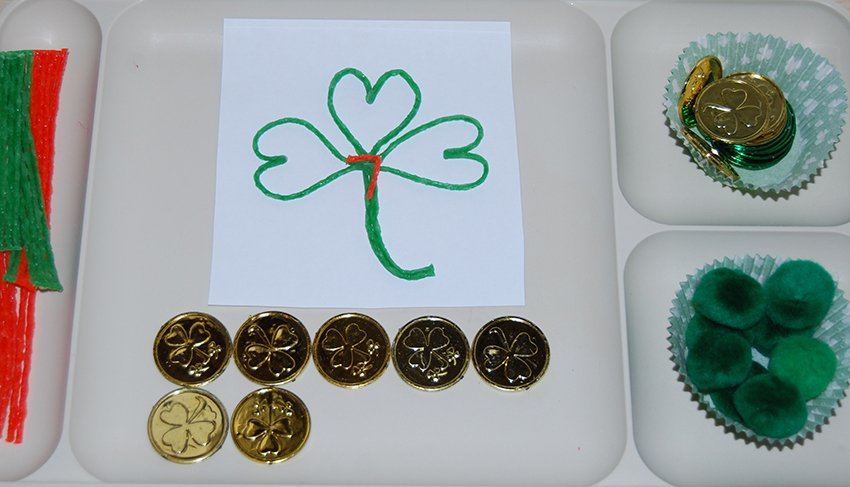 Wikki Stix Fine Motor and Counting Trays
