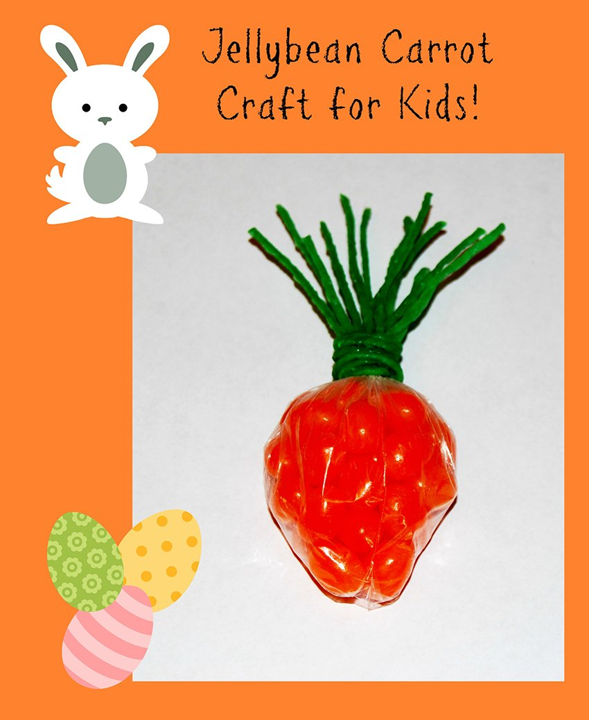 Wikki Stix Jellybean Carrot Craft for Kids