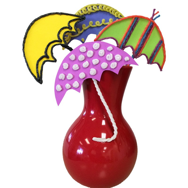 Umbrella Vase Craft