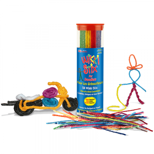 Bilingual Wikki Stix For Doodlers