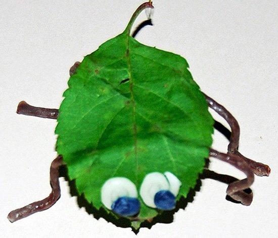 Wikki Stix Leaf Bugs
