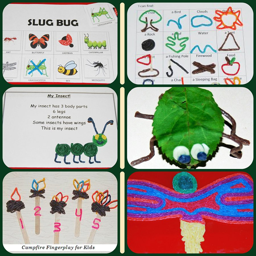 Camping Activities and Crafts for Kids!