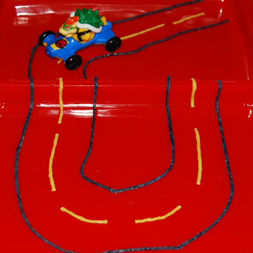 Wikki Stix Created Roads