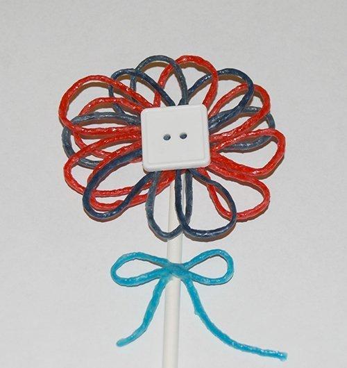 Wikki Stix Patriotic Flower Craf