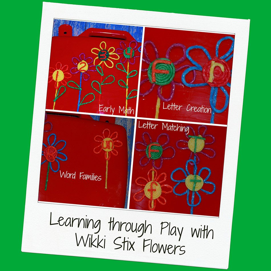 Flowers Themed Early Math and Literacy Activities for Young Kids!