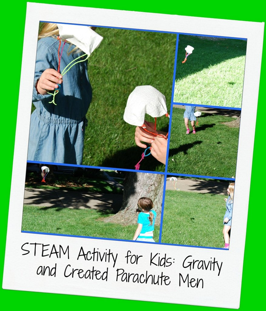 STEAM Parachute Men Activity