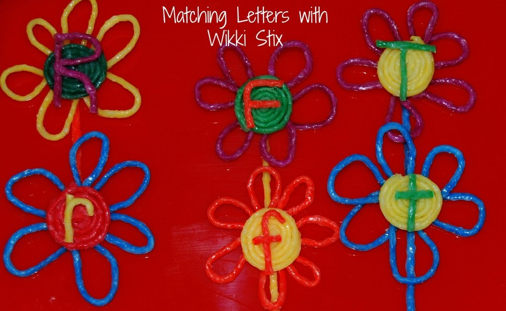 Wikki Stix Letter Matching