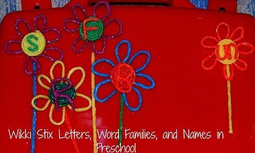 Wikki Stix word families