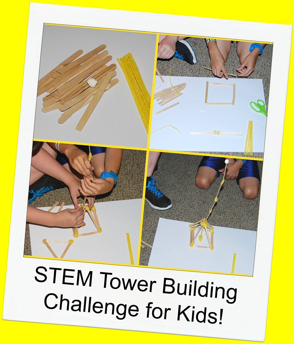 Trade In Cell Phone >> STEM for Kids: Tower Building Challenge | Wikki Stix