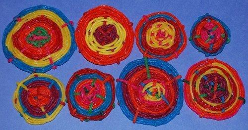 Wikki Stix Woven Concentric Circles